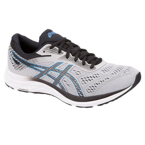 ASICS MEN'S GEL EXCITE 6 RUNNING SHOE MID GREY/ELECTRIC BLUE