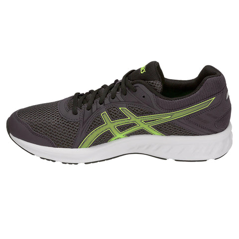 ASICS MEN'S JOLT 2 RUNNING SHOE DARK GREY/HAZARD GREEN