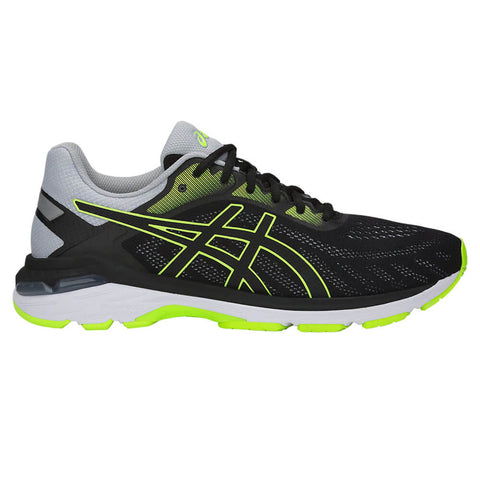 ASICS MEN'S GEL PURSUE 5 RUNNING SHOE BLACK/HAZARD GREEN