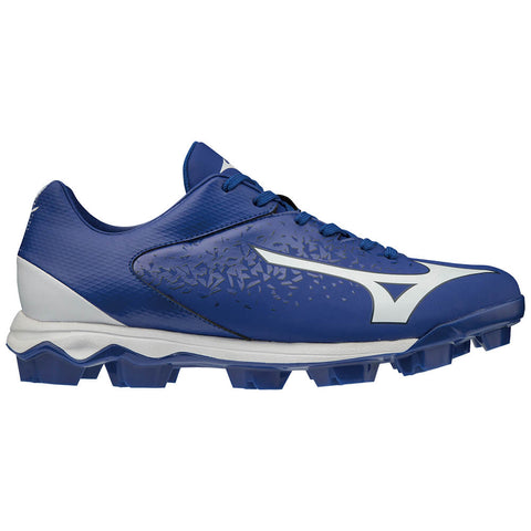 MIZUNO MEN'S WAVE SELECT NINE TPU BASEBALL CLEAT ROYAL/WHITE