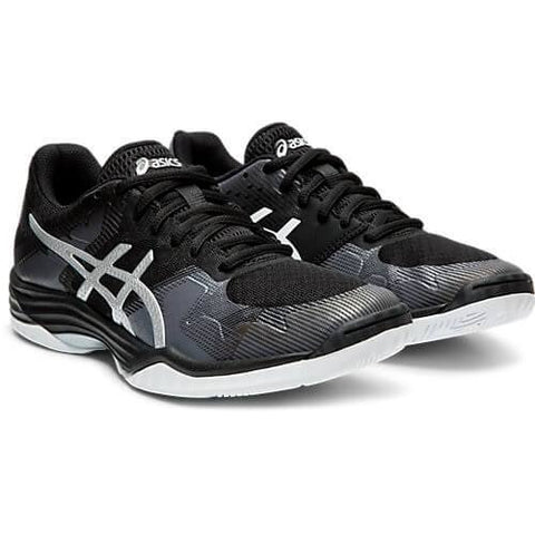 ASICS WOMEN'S GEL TACTIC INDOOR COURT SHOE BLACK/SILVER