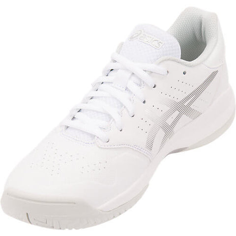 ASICS WOMEN'S GEL GAME 7 TENNIS SHOE WHITE/SILVER