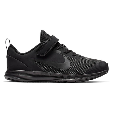 NIKE BOYS PRE-SCHOOL DOWNSHIFTER 9 KIDS SHOE BLACK/BLACK/BLACK