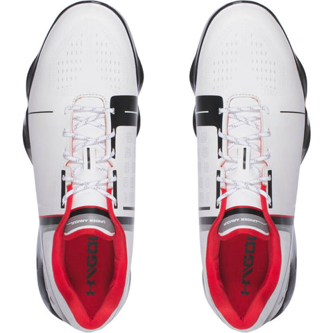 UNDER ARMOUR JUNIOR SPIETH ONE GOLF CLEAT WHITE