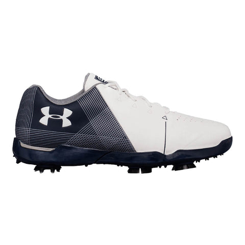 UNDER ARMOUR JUNIOR SPIETH 2 GOLF CLEAT WHITE