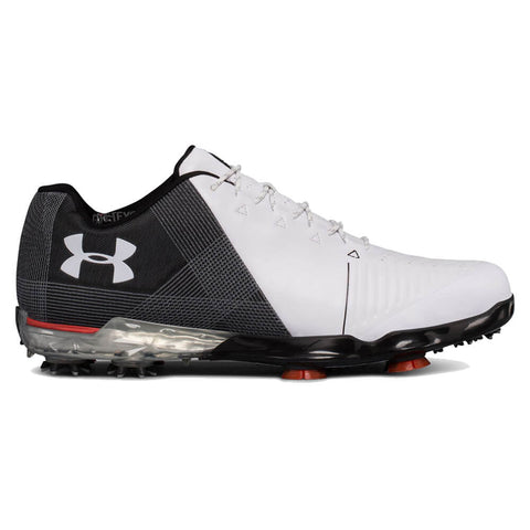 UNDER ARMOUR MEN'S SPIETH 2 GOLF CLEAT WHITE/BLACK