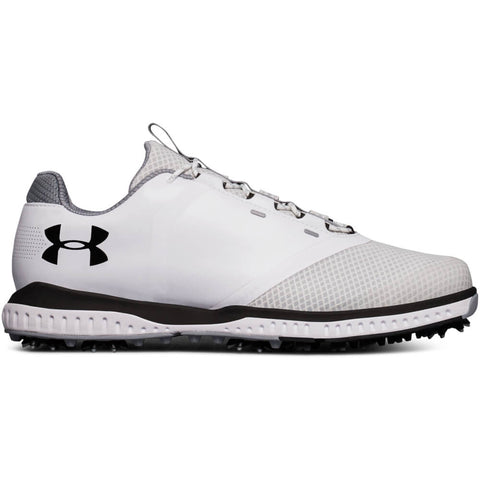 UNDER ARMOUR MEN'S FADE RST GOLF CLEAT WHITE