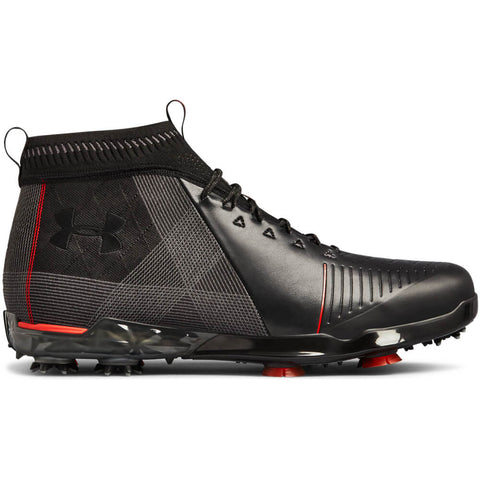 UNDER ARMOUR MEN'S SPIETH 2 MID GT GOLF CLEAT BLACK