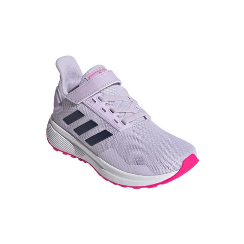 ADIDAS GIRLS PRE-SCHOOL DURAMO 9 C KIDS SHOE PURPLE/INDIGO/PINK