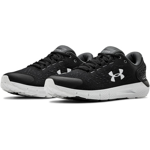 UNDER ARMOUR MEN'S CHARGED ROGUE 2 RUNNING SHOE BLACK/GREY/WHITE