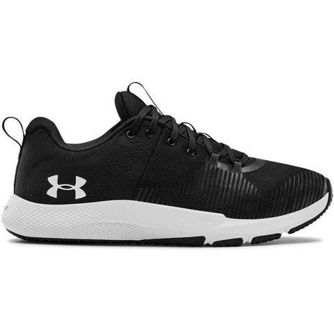 UNDER ARMOUR MEN'S CHARGED ENGAGE TRAINING SHOE BLACK/BLACK/WHITE