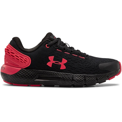 UNDER ARMOUR BOYS GRADE SCHOOL CHARGED ROGUE 2 KIDS SHOE BLACK/RED/RED