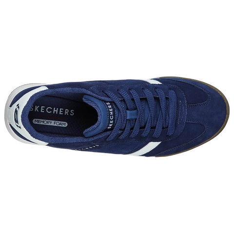 SKECHERS MEN'S ZINGER LIFESTYLE SHOE NAVY