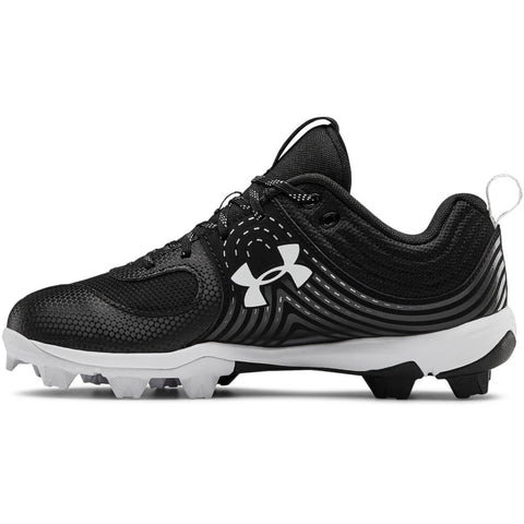 UNDER ARMOUR WOMEN'S GLYDE RM BASEBALL CLEAT BLACK/WHITE