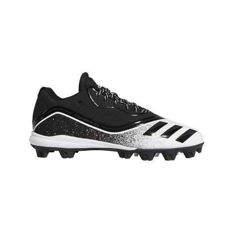 ADIDAS MEN'S ICON V MD BASEBALL CLEAT BLACK/WHITE