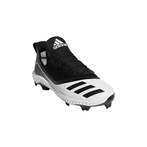 ADIDAS MEN'S ICON V BOUNCE TPU BASEBALL CLEAT BLACK/WHITE
