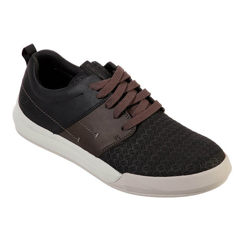SKECHERS MEN'S NORSEN-AVENO LIFESTYLE SHOE BLACK