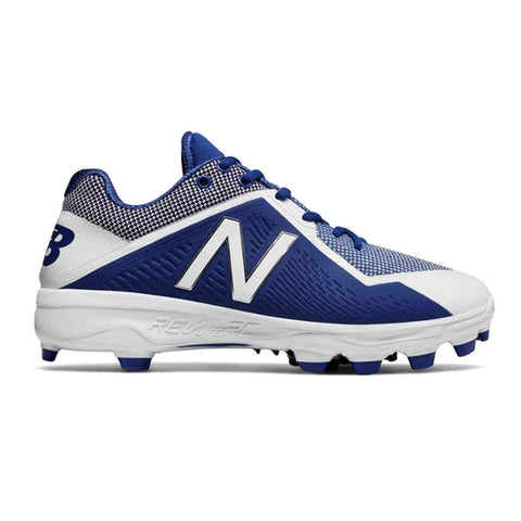 NEW BALANCE MEN'S 4040 TPU WIDTH D BASEBALL CLEAT ROYAL/WHITE