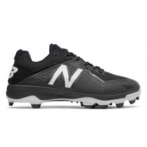 NEW BALANCE MEN'S 4040 WIDTH D BASEBALL CLEAT BLACK/WHITE