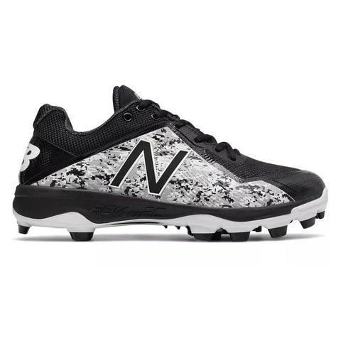 NEW BALANCE MEN'S 4040 WIDTH 2E LOW BASEBALL CLEAT BLACK/CAMOFLAUGE