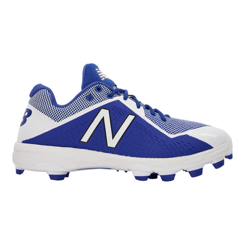 NEW BALANCE MEN'S 4040 WIDTH D MID BASEBALL CLEAT ROYAL/WHITE