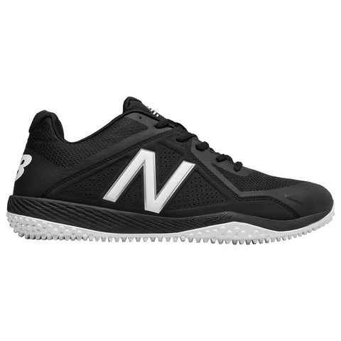NEW BALANCE MEN'S 4040 WIDTH 2E BASEBALL TURF CLEAT BLACK/WHITE