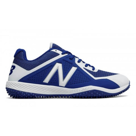 NEW BALANCE MEN'S 4040 WIDTH 2E BASEBALL TURF CLEAT ROYAL/WHITE