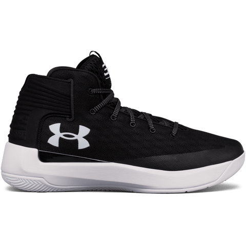 UNDER ARMOUR MEN'S SC 3ZERO BASKETBALL SHOE BLACK