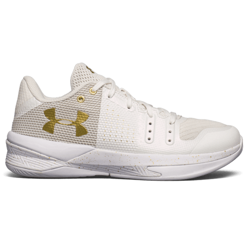 UNDER ARMOUR WOMEN'S BLOCK CITY INDOOR COURT SHOE WHITE