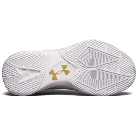 UNDER ARMOUR WOMEN'S BLOCK CITY INDOOR COURT SHOE WHITE SOLE