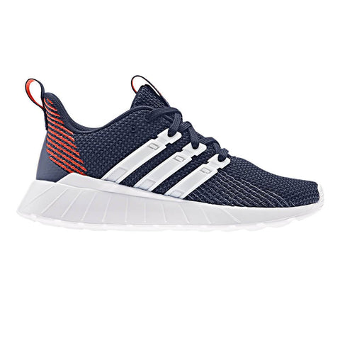 ADIDAS BOYS GRADE SCHOOL QUESTAR FLOW K KIDS SHOE BLUE/WHITE/ACTORA
