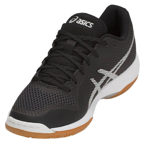 ASICS WOMEN'S GEL TACTIC 2 INDOOR COURT SHOE BLACK/SILVER