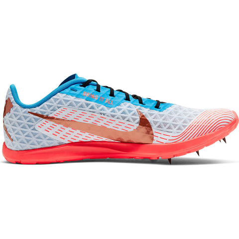 NIKE UNISEX ZOOM RIVAL XC TRACK SHOE BLUE/COPPER/CRIMSON