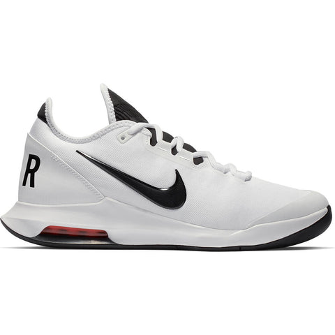 NIKE MEN'S AIR MAX WILDCARD HC TENNIS SHOE WHITE/BLACK