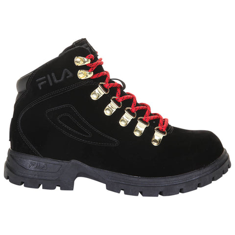 FILA WOMEN'S DIVINER FS WINTER BOOT BLACK/RED/BLACK