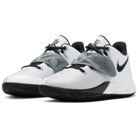 NIKE BOYS GRADE SCHOOL KYRIE FLYTRAP III KIDS SHOE WHITE/BLUE/ORANGE