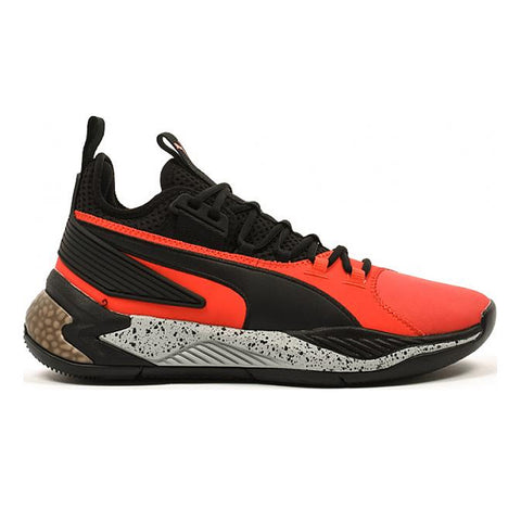 PUMA MEN'S UPROAR HYBRID COURT CORE BASKETBALL SHOE RED/BLACK