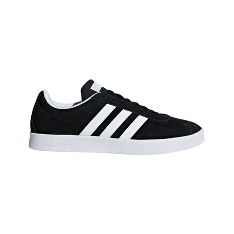 ADIDAS WOMEN'S VL COURT 2.0 LIFESTYLE SHOE BLACK/WHITE/BLUE