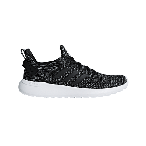 ADIDAS MEN'S CLOUDFOAM LITE RACER RUNNING SHOE BLACK/WHITE/BLACK