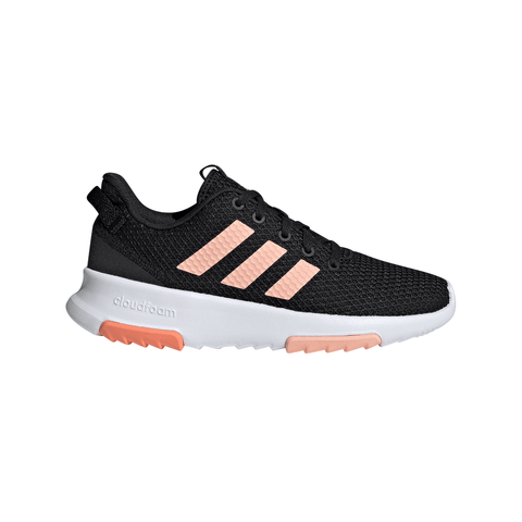 ADIDAS GIRLS PRE-SCHOOL CF RACER TR KIDS SHOE BLACK/PINK