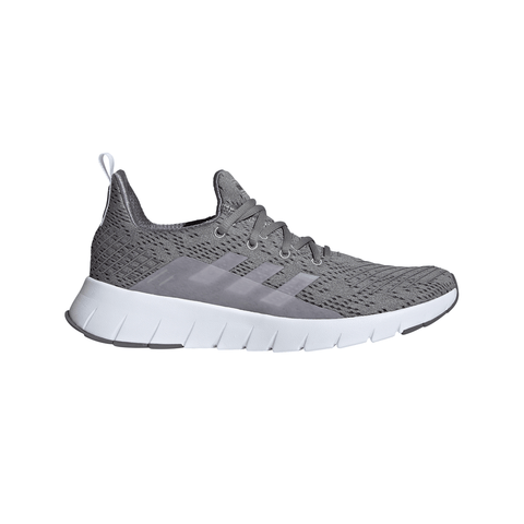 ADIDAS MEN'S ASWEEGO RUNNING SHOE GREY/WHITE/GREY