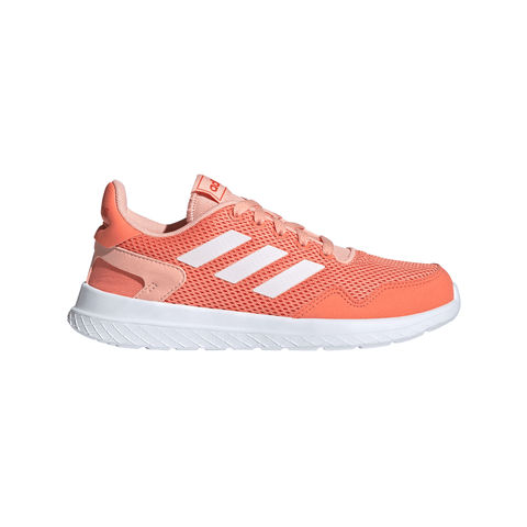 ADIDAS GIRLS GRADE SCHOOL/PRE-SCHOOL ARCHIVO KIDS SHOE CORAL/WHITE/GLOW