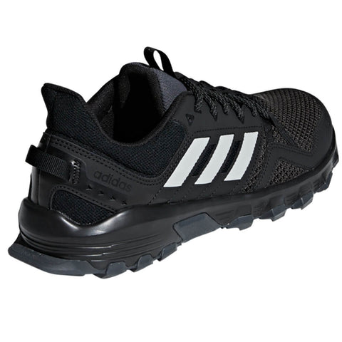ADIDAS MEN'S ROCKADIA TRAIL RUNNING SHOE BLACK/GRETWO/GRESIX
