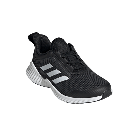 ADIDAS BOYS PRE-SCHOOL FORTARUN KIDS SHOE GREY/WHITE/BLACK