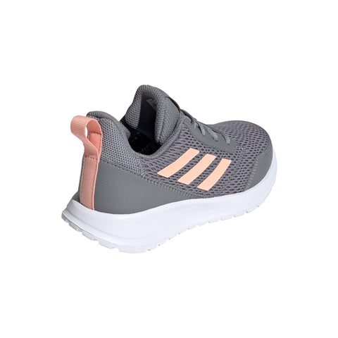 ADIDAS GIRLS GRADE SCHOOL/PRE-SCHOOL ALTARUN KIDS SHOE GREY/GLOW PINK/WHITE