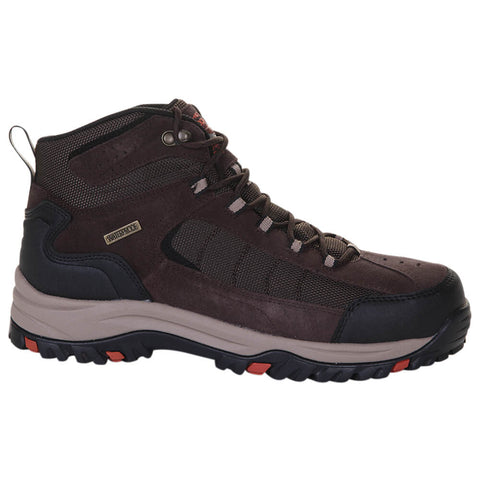 SKECHERS MEN'S RELMENT - ADWIN WINTER BOOT DARK BROWN