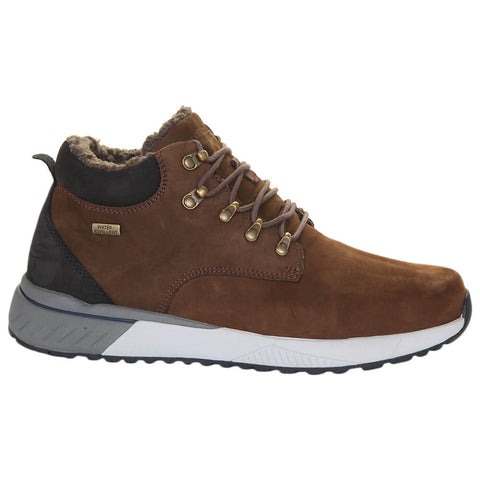 SKECHERS MEN'S FELANO - MORSE WINTER BOOT BROWN