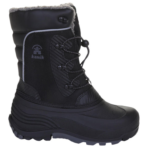 KAMIK BOYS LUKE -40C WATERPROOF WINTER BOOT BLACK
