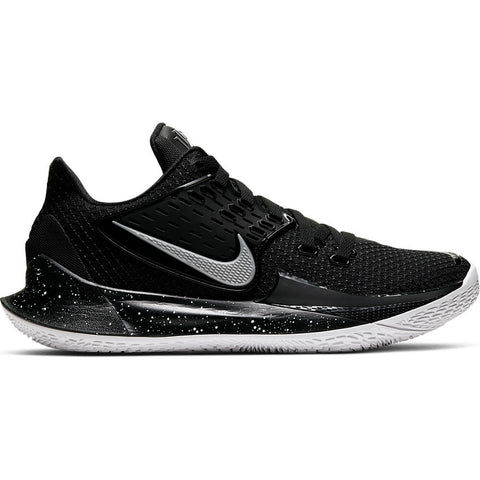 NIKE MEN'S KYRIE LOW 2 BASKETBALL SHOE BLACK/METALLIC SILVER