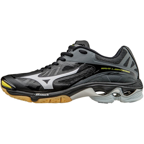 MIZUNO MEN'S WAVE LIGHTNING Z2 INDOOR COURT SHOE BLACK/GREY